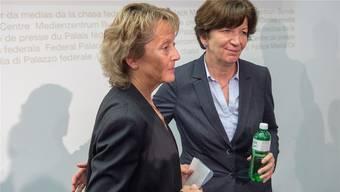 Brigitte Hauser-Süess, ehemalige Präsidentin der CVP-Frauen, arbeitete bereits erfolgreich für mehrere Bundesrätinnen, unter anderem als Medienchefin von Eveline Widmer-Schlumpf.