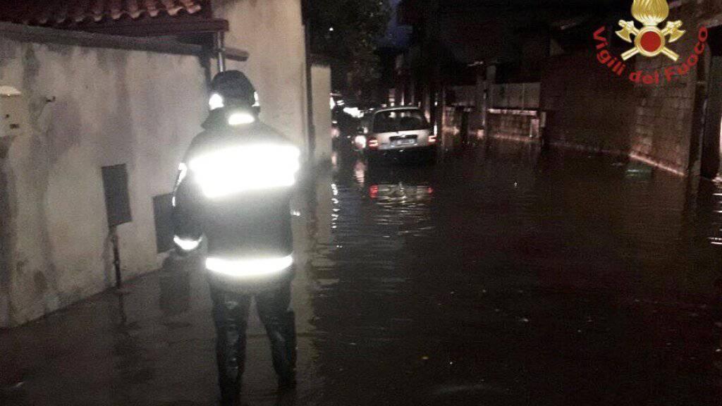 Heftige Unwetter auf Sardinien - mindestens zwei Tote