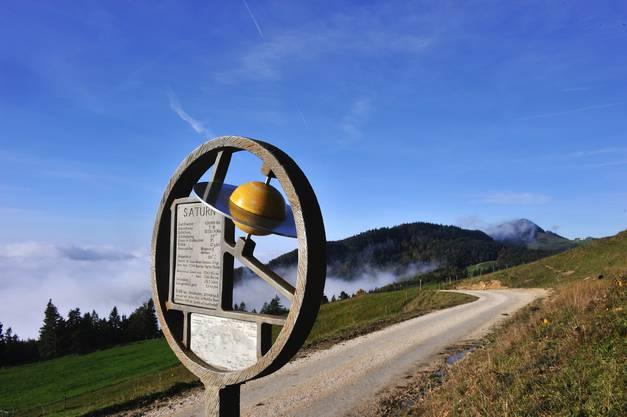 Der Saturn auf dem Berg.