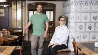 Wirt Andy Zaugg und Küchenchefin Rita Camenzind freuen sich auf den Start.