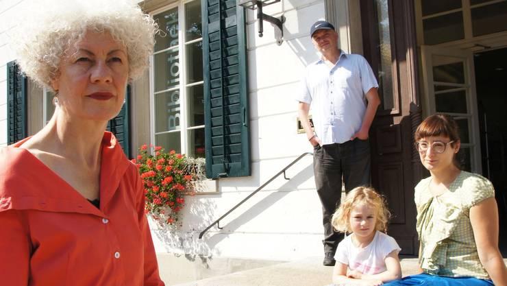 Barbara Kopp, Catalin Dorian Florescu und Kati Rickenbach wurden von der Fachstelle Kultur für ihre Werke ausgezeichnet.