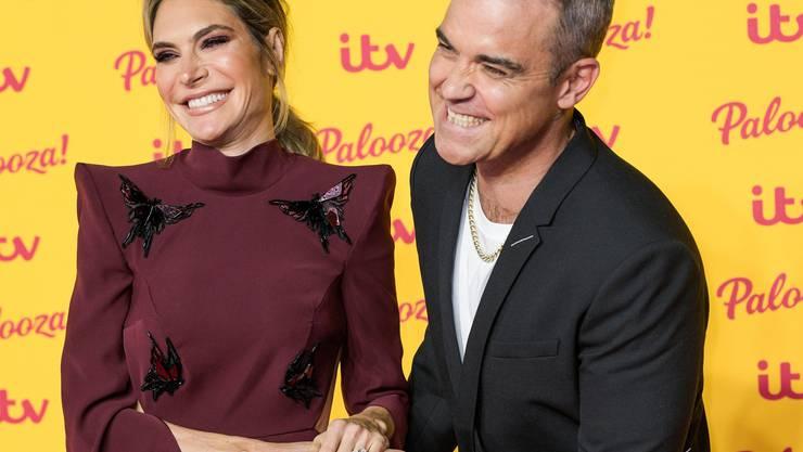 Popstar Robbie Williams und Schauspielerin Ayda Williams sind schon seit 2006 ein Paar. Bild: Imago