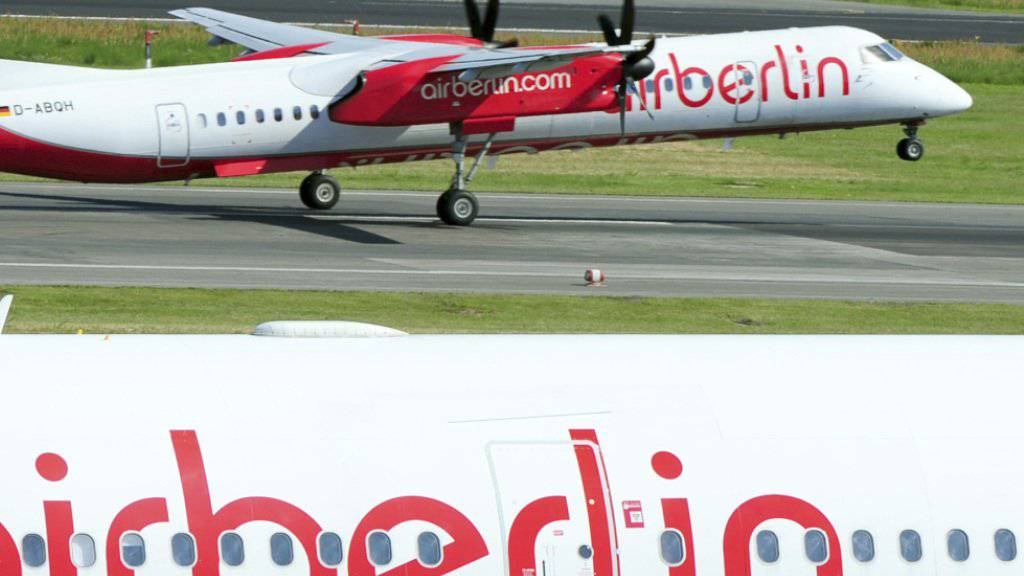Soll künftig von China aus fliegen: Die chinesische Betreibergesellschaft des Flughafens Parchim hat Interesse an der insolventen Air Berlin. (Archivbild)