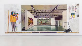 Martin Kaspers «Sur les murs» ist ein Suchbild im Suchbild, das mit den Wirklichkeiten spielt.