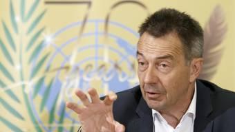 Für IKRK-Präsident Peter Maurer ist humanitäre Hilfe heute angesichts neuartiger und längerer Konflikte sowie angesichts des Klimawandels nicht mehr in erste Linie Notversorgung von Geflohenen oder drangsalierten Menschen.