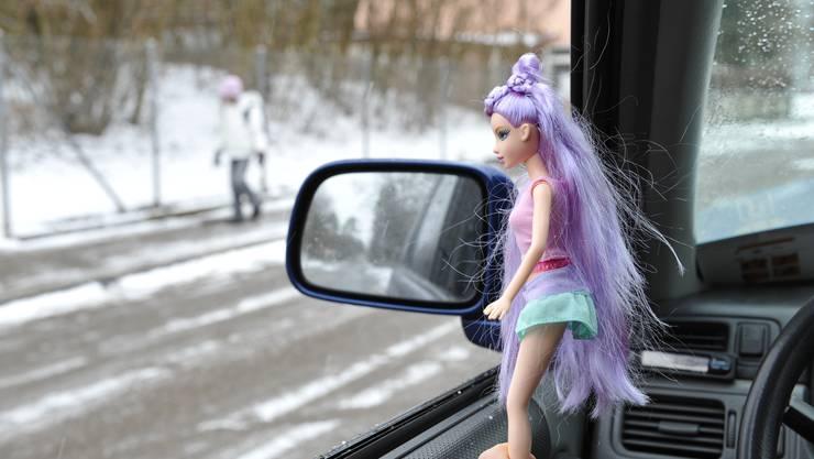 Pädophiler Autofahrer. (Symbolbild)