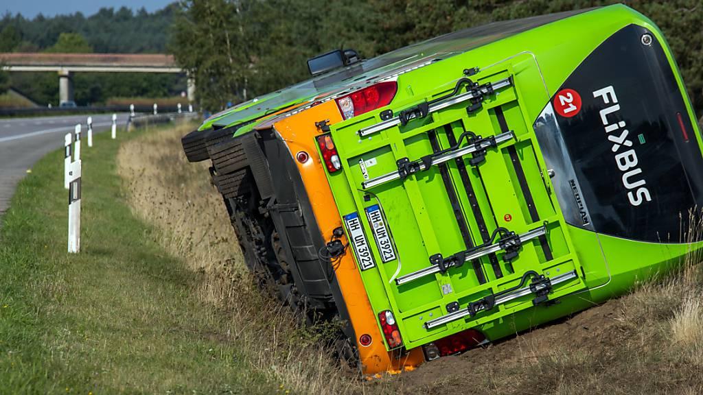 Flixbus: Bei Fernbusunfall weit weniger Verletzte