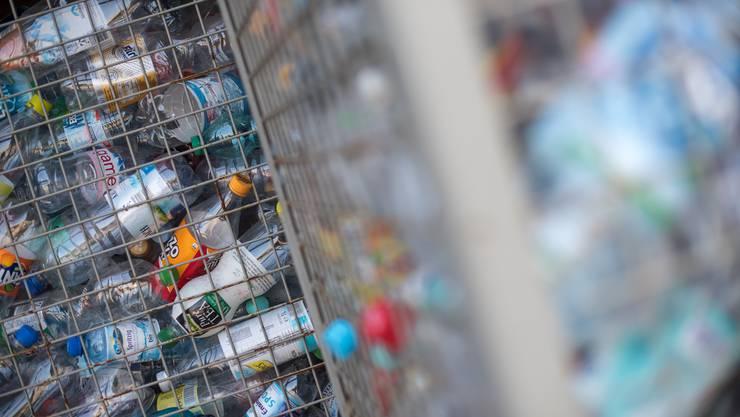 Eines der von der Klimastiftung unterstützten Projekte ist eine neuartige Recycling-Presse für PET-Flaschen. (Symbolbild)