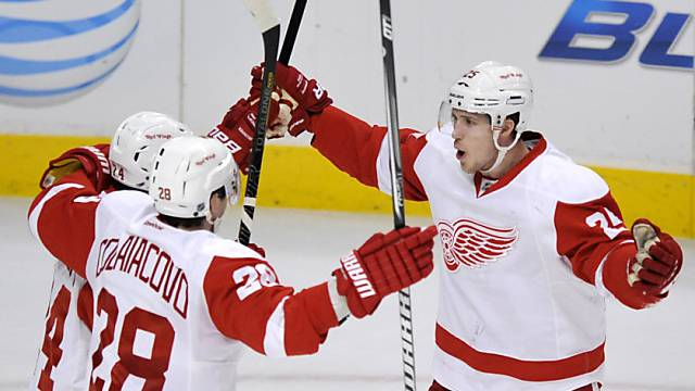 Detroit Red Wings im Schlussspurt