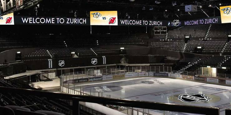 So würde das Hallenstadion im NHL-Style aussehen.