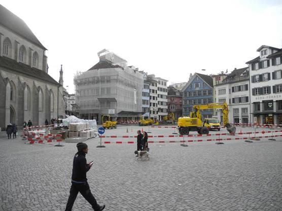 Neu ist der Münsterhof parkplatzfrei.