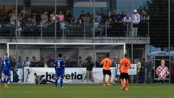 2017 begeisterte NK Pajde beim Cupspiel gegen Lausanne die Zuschauer – dabei war auch Ivan Rakitic, wenn auch nur auf dem Plakat.