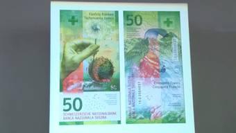 Die neue 50-Franken-Note