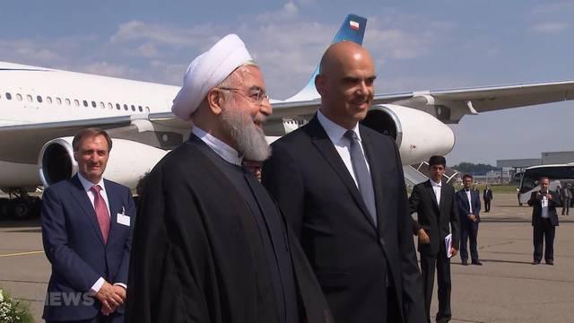 Höchster Besuch von Iran-Präsident Rohani