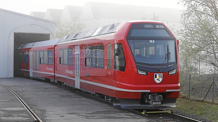 Einer der «Capricorn»-Züge der Rhätischen Bahn.