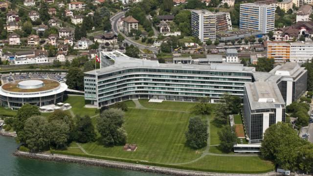Firmen wie Nestle tragen zur Stabilität der Schweiz bei (Archiv)