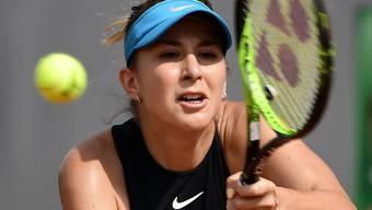 Belinda Bencic reiht Sieg an Sieg und steht im Halbfinal