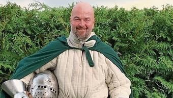 Peter Friedli aus Unterkulm sucht einen Raum für Ritter-Trainings.