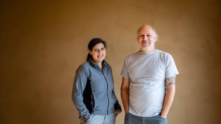 Natalina Polito und Harry Rödel bauen ein Einfamilienhaus aus Lehm.
