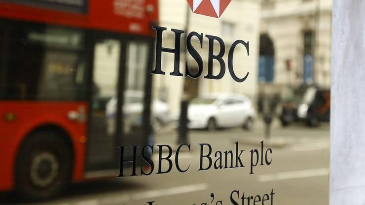 Der Firmensitz der Grossbank HSBC verbleibt in London - ein Umzug nach Hongkong hätte schätzungsweise 2,5 Milliarden Dollar gekostet. (Archiv)