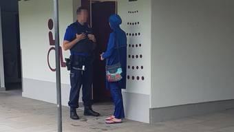 Thumb for 'Polizeieinsatz wegen Burkini in Balsthaler Badi '