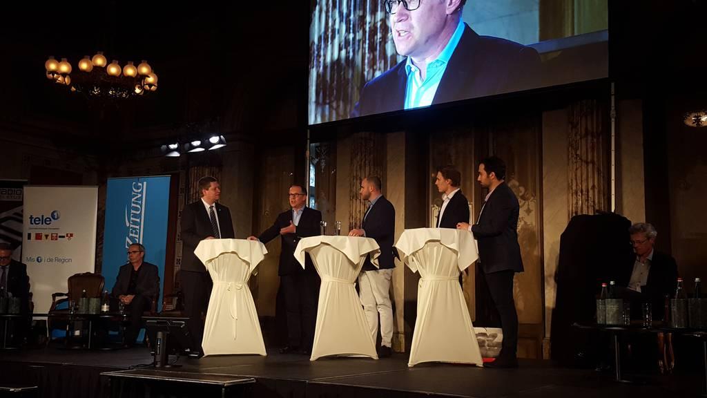 Live ab 18.30 Uhr: Podium Luzerner Wahlen