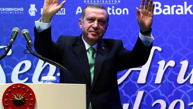 Der türkische Präsident Erdogan (Archiv)
