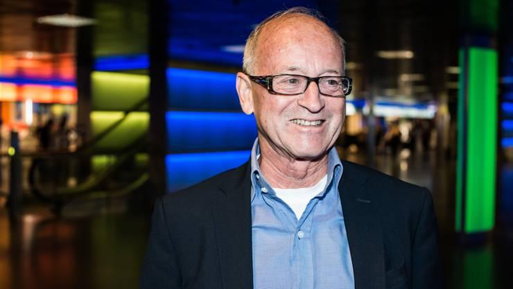 Reinhard Fromm setzt sich leidenschaftlich für den Tennissport in der Schweiz ein.
