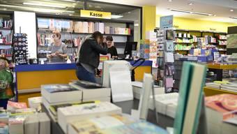 Trotz umfassender Schutzkonzepte: Bücher Lüthi muss geschlossen bleiben.
