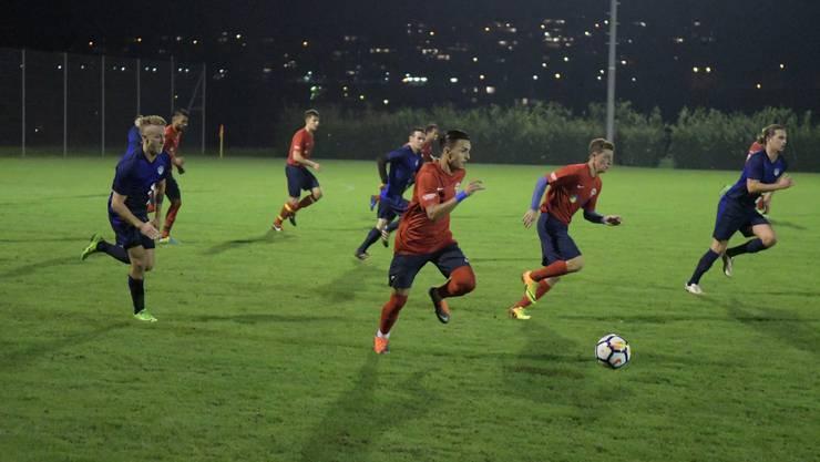 Die FC-Birmensdorf-Spieler (in Rot) hatten bisher nichts zu jubeln.