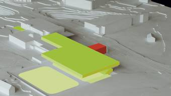 Die Visualisierung der Variante 2, für die sich der Einwohnerrat entschieden hat.