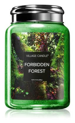 Aromen von Kiefer: Duftkerze Forbidden Forest von Village Candle. 31 Fr.