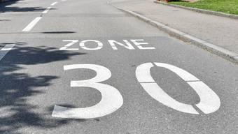 Der Gemeinderat Gränichen will flächendeckend Tempo 30 auf den Gemeindestrassen einführen.