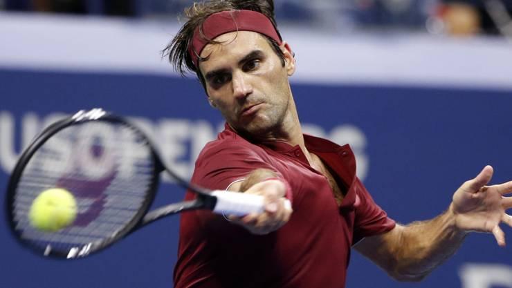 Im letzten Jahr scheiterte Roger Federer beim US Open im Achtelfinal an John Millman