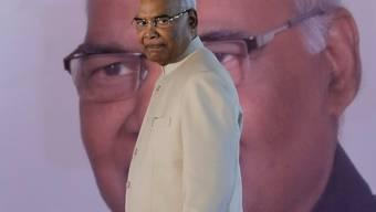 Ram Nath Kovind kurz nach seiner Wahl zum indischen Staatspräsidenten.