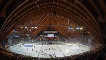 Ein Erfolgsmodell: Die Davoser Vaillant-Arena war gestern Nachmittag in der Partie zwischen Lugano und Mannheim (6:3) bereits ausverkauft.