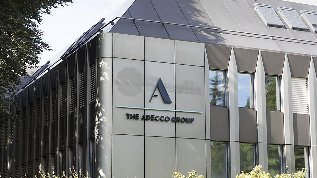 Im Zuge der wirtschaftlichen Abkühlung sind die Dienste des Personalvermittlers Adecco weniger gefragt. (Archiv)