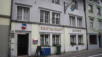 Das Restaurant Sonne hat eine ungewissen Zukunft vor sich.
