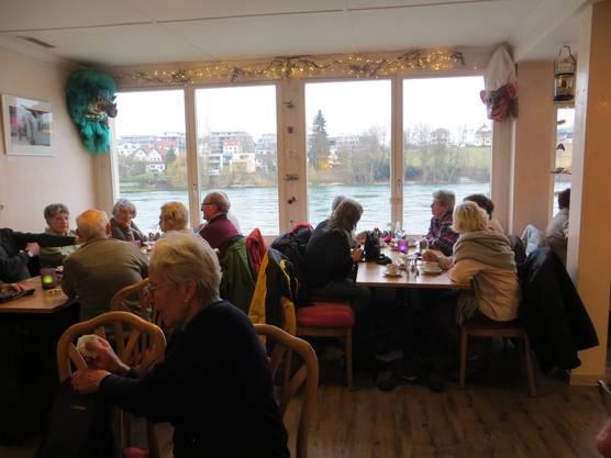 Das Zvieri in Café Casablanca in Rheinfelden