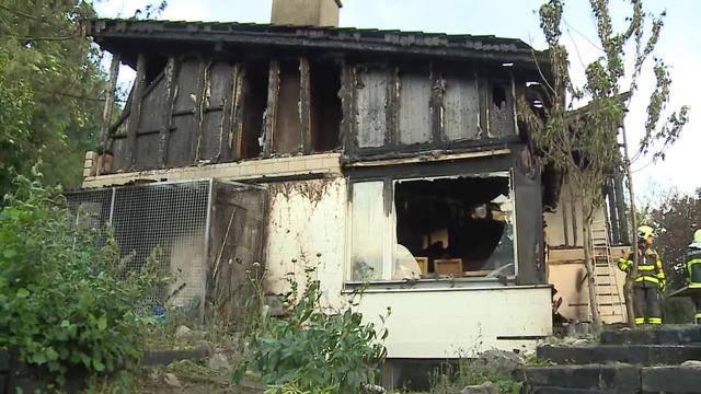 5-köpfige Familie nach Hausbrand obdachlos
