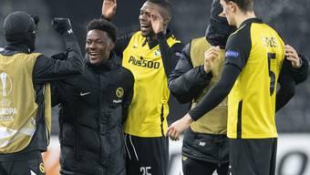 YB holte sich 2020 das Double aus Meisterschaft und Cup, führt die Super League bereits mit deutlichem Vorsprung wieder an und überwintert in der Europa League nach einem dramatischen 2:1-Erfolg über Cluj