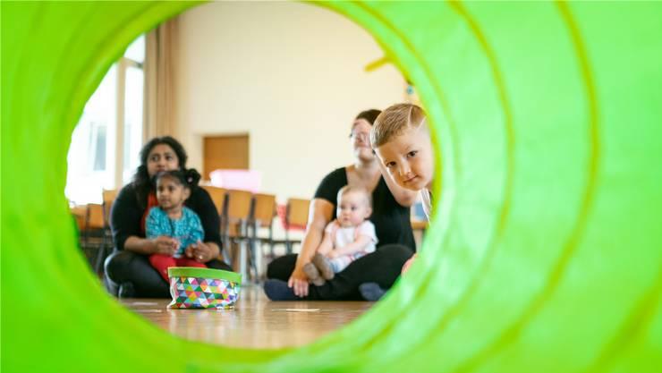 Der Eltern-Kind-Treff ist ein Ort für ein Miteinander – egal, welche Sprache man spricht oder aus welchem Land man kommt.