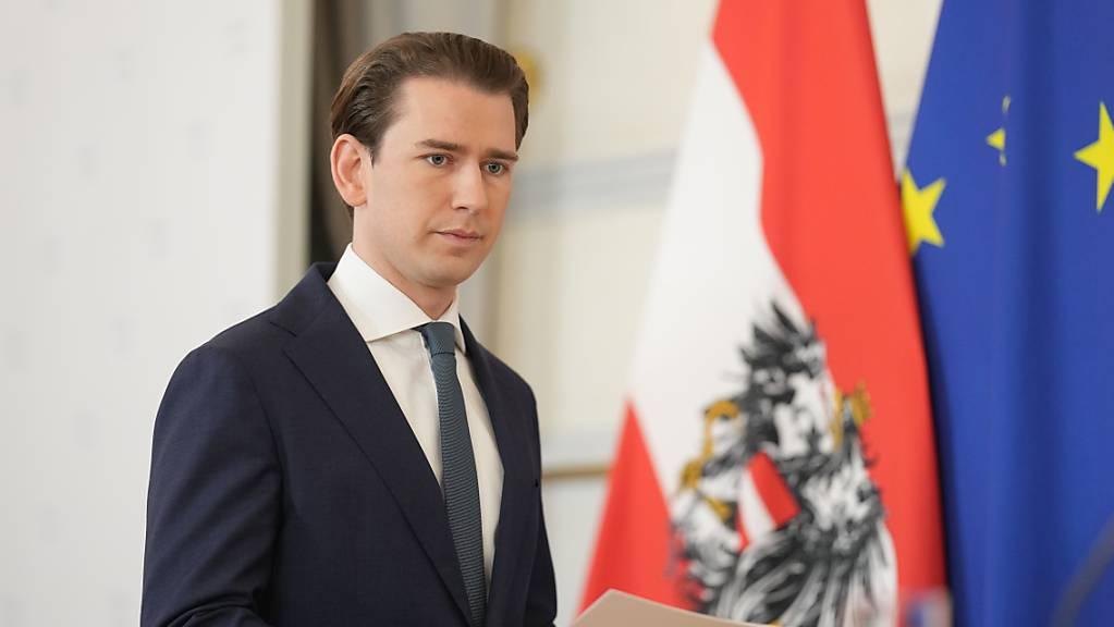 dpatopbilder - Sebastian Kurz (ÖVP) ist als Bundeskanzler von Österreich zurückgetreten. Foto: Georg Hochmuth/APA/dpa