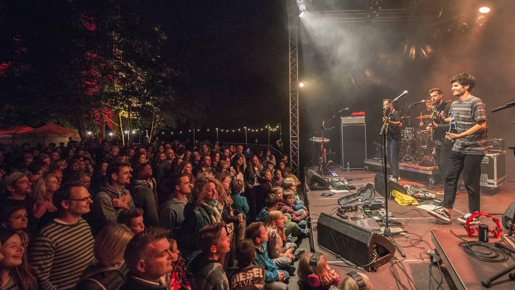 Das Weihern Festival wird auch dieses Jahr in der Badi Dreilinden stattfinden. (Archiv)