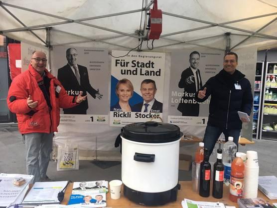 Markus' Lottenbach und Binder möchten gerne in den Kantonsrat.
