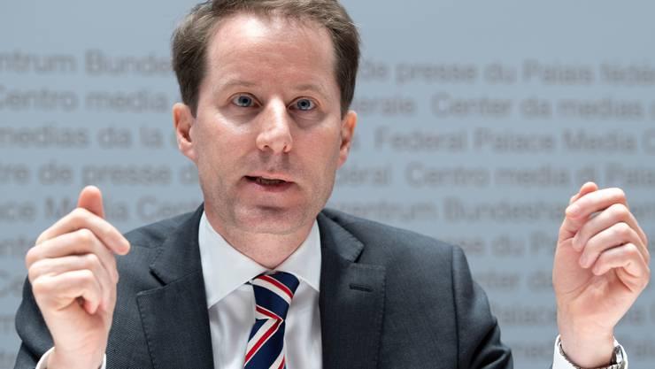 SVP-Fraktionspräsident und Nationalrat Thomas Aeschi.