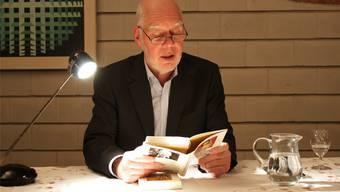 «Mir hat es nie gereicht, nur über Fakten zu schreiben», sagt Schriftsteller Lukas Hartmann.