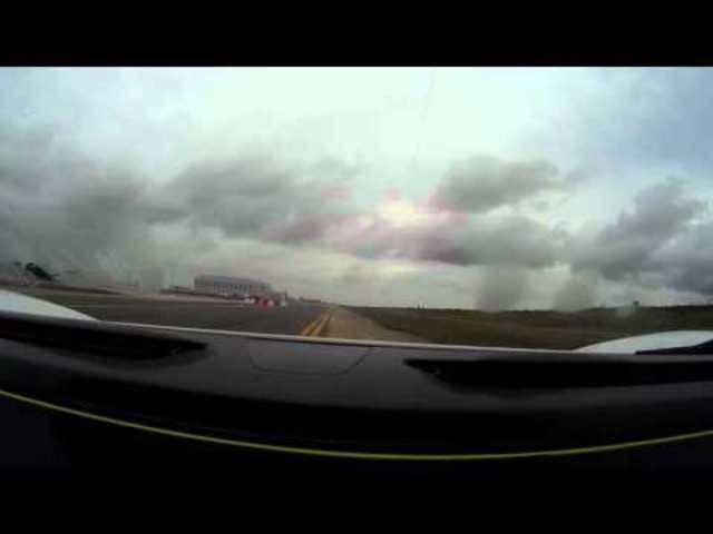 Dieses Video zeigt die Minuten vor dem Unfall auf Paul Baileys Cockpit.