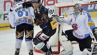 Nicklas Danielsson bejubelt das Tor zum 2:0