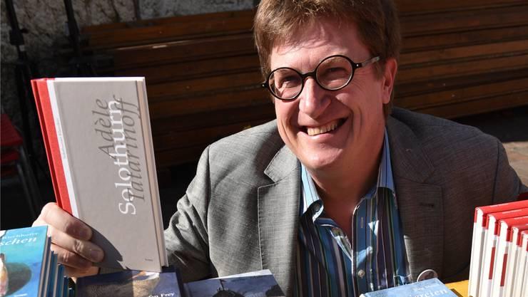 Initiant und Mitinhaber von Chilimedia Thomas Knapp tritt an der Buchmesse Olten auch als Verleger auf.